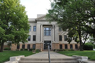 Clay County, South Dakota - Image: Vermilion SD Clay County Courthouse