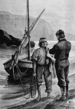 Verne - Les Naufragés du Jonathan, Hetzel, 1909, Ill. page 42