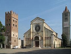 San Zeno Maggiore Verona Wikipedie