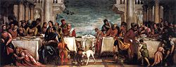 Paolo Veronese: The Feast in the House of Simon the Pharisee