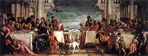 Veronese, Paolo - Feast at the House of Simon - 1567-1570.jpg