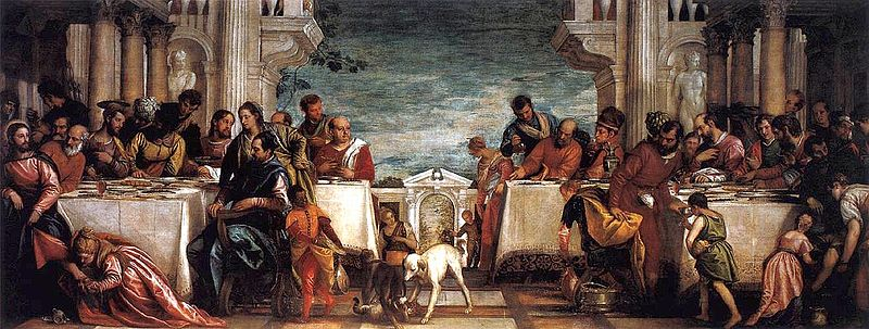 File:Veronese, Paolo - Feast at the House of Simon - 1567-1570.jpg