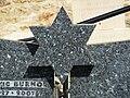 Versailles CIMETIERE ISRAELITES étoile de David détail.jpg