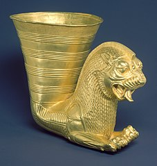 Achaemenid Persian Lion Rhyton