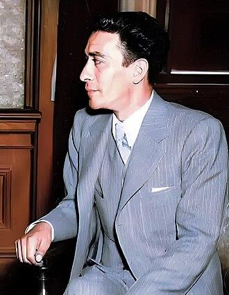 Lázaro Cárdenas - Vicente Lombardo Toledano, socialist leader of the Confederation of Mexican Workers