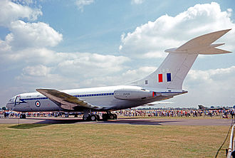 No. 10 Squadron RAF - Vickers VC-10 C.1 of No. 10 Squadron in 1977