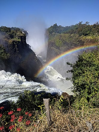 Victoria Falls - Victoria Falls from the Zimbabwe side