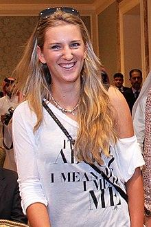 วิคตอเรีย อซาเรนกา,นักเทนนิส,ประวัติส่วนตัว,Victoria Azare