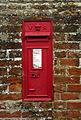 Victorian wall post box, St Pauls Walden (geograph 3088578).jpg