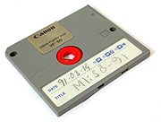 2-inch Video Floppy Disk from Canon.
