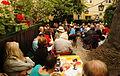 Vienna 2013-08-13 Sittl - 'in memoriam Rolf Schwendter' 002 Inaugural address by event's organizer E. Leder.jpg