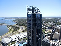 View from 108 St Georges Terrace, Perth 06 (E37@OpenHousePerth2014).JPG