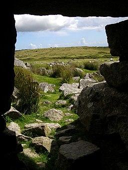 View from Daniel Gumb's Cave, Craddock Moor - geograph.org.uk - 526241