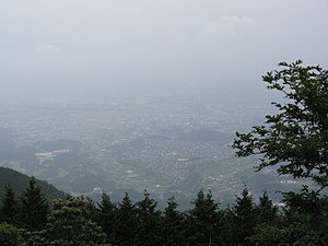 Mount Naka Katsuragi - Image: View from Mount Nakakaturagi 2