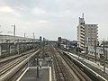 View from overpass of Araki Station (Kagoshima Main Line).jpg