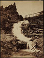 View of Castle Falls El Paso County Colorado by William Henry Jackson.jpg