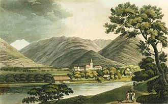 Interlaken - View of Interlaken, 1821