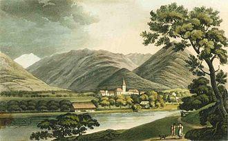 Interlaken - View of Interlaken, 1821