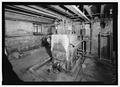 View of furnace in northeast cellar room - Blandair, 6651 Highway 175, Columbia, Howard County, MD HABS MD-1149-34.tif