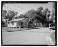 View of north front and east side, facing southwest - 800 Randall Street (House), 800 Randall Street, Orlando, Orange County, FL HABS FL-547-5.tif