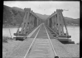 View of the Paremata railway bridge, looking south on the main trunk line ATLIB 168616.png