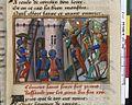 Vigiles de Charles VII, fol. 117, Prise de Saint-Sever (1442).jpg