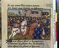 Vigiles de Charles VII, fol. 233, Campagne de Jean II de Bourbon en Guyenne (1453).jpg