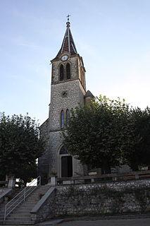 Vignieu Commune in Auvergne-Rhône-Alpes, France