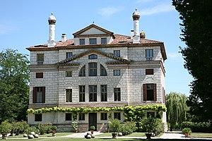 Villa Foscari - Villa Foscari: rear facade