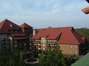 Disney's Wilderness Lodge - Image: Villas at Disney's Wilderness Lodge