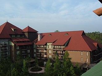 Disney's Wilderness Lodge - Image: Villas at Disney's Wilderness Lodge