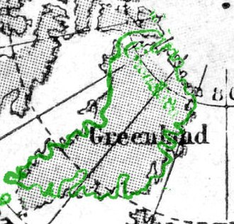 Vinland map - Image: Vinland map greenland