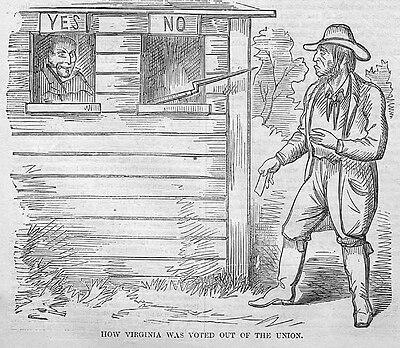 articles involving secession virginia