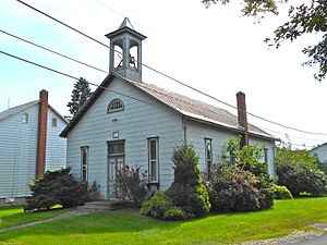 Virginville, Pennsylvania - Image: Virginville Chapel Berks Co PA
