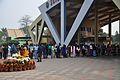 Visitors Entry Queues - Science City - Kolkata 2015-12-31 8398.JPG