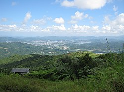 View of Caguas from Cerro Las Piñas in Beatriz, Cayey