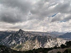 Vista del monte Trevenque visto desde cerro gordo.jpg