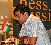 Current World Champion Viswanathan Anand