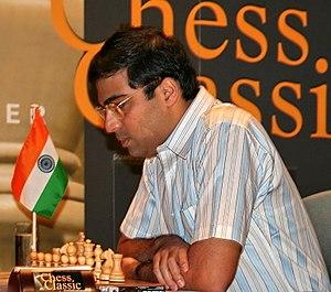 World Chess Championship 2007 - Viswanathan Anand of India, winner of the World Chess Championship 2007