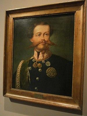 Museum of the Risorgimento (Milan) - Image: Vittorio Emanuele Duca di Savoia Gerolamo Induno 1850 circa museo del risorgimento di Milano