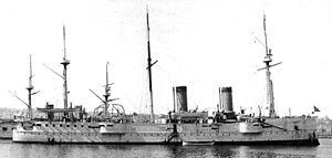 Russian cruiser Vladimir Monomakh - Image: Vladimir Monomakh cruiser 01