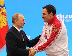 Vladimir Putin and Aleksey Voyevoda 24 February 2014.jpeg