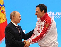 Vladimir Putin and Aleksey Voyevoda 24 February 2014.jpeg