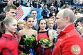 Vladimir Putin visited the Iceberg Skating Palace (2014-02-09) 06.jpg