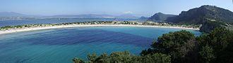 Voidokilia beach - Image: Voidokilia Bucht Pylos