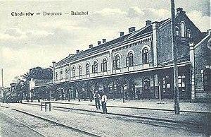 Khodoriv - The Khodoriv Train Station.