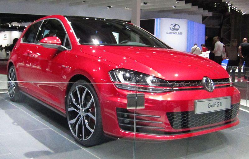 Red Golf GTI