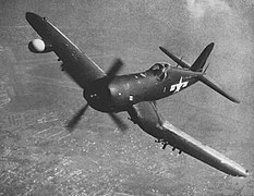 Vought F4U-5N Corsair in flight, circa in 1949.jpg
