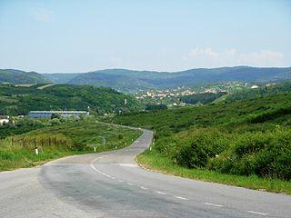 Vrdnik Village in Vojvodina, Serbia