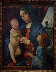 Madonna and Child with Angel
